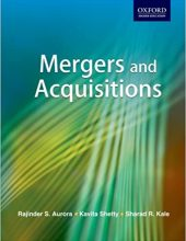 Mergers and Acquisitions_Aurora, Shetty and Kale